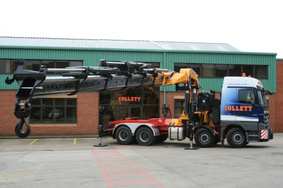 Collett & Sons Effer 205 Crane Vehicle