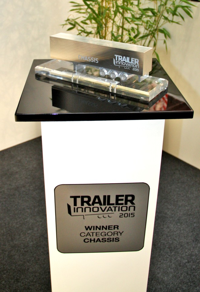 Goldhofer wins 2015 Trailer Innovation Award