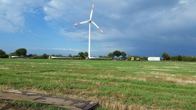 wind energy transports