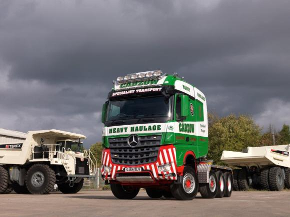 Mercedes-Benz Arocs for Cadzow