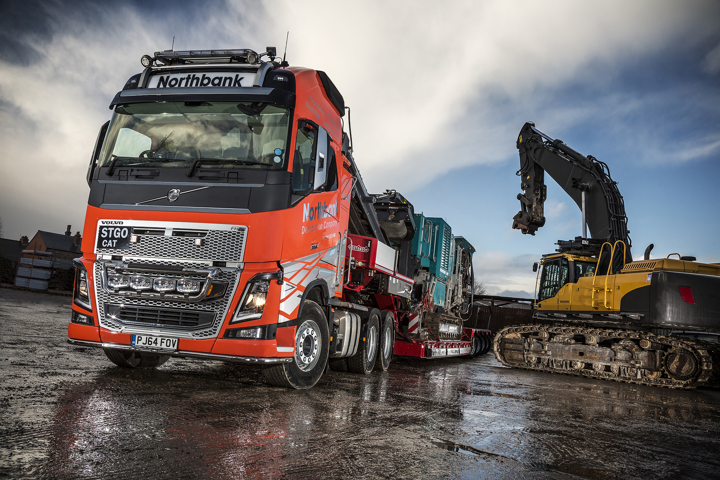 Fh16 Is First Heavy Haulage Volvo For Northbank Demolition