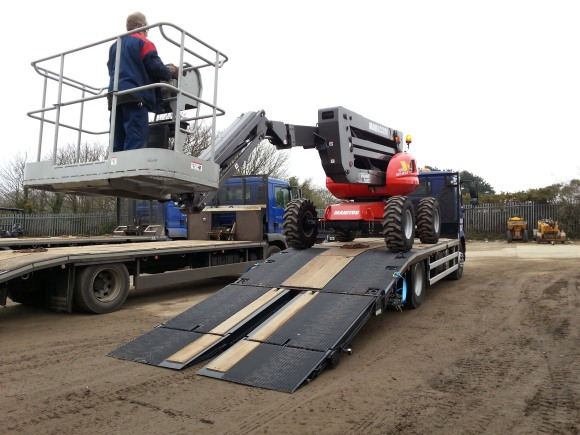 Highway Plant Hire's Andover Trailers