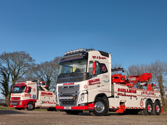 Millers of Longton Volvo FH16