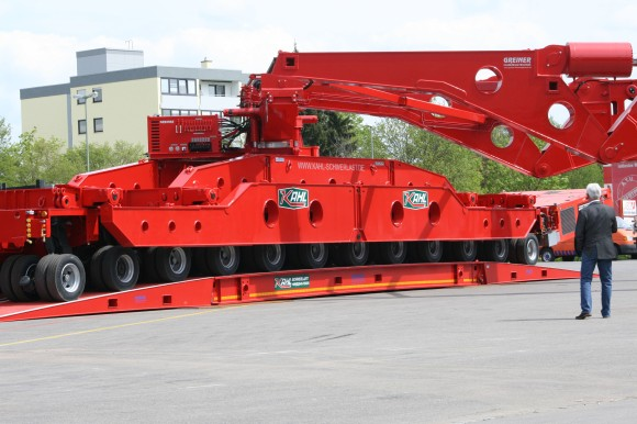 Schwerlast Unveil New Goldhofer Girder Deck